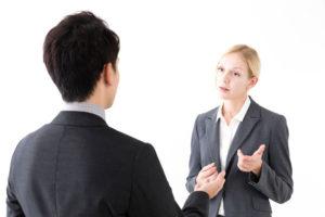 外国人と交渉