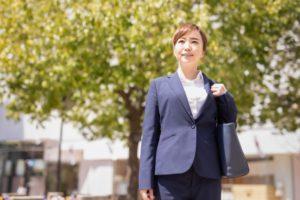 総合職の銀行員女性